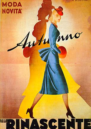 Lr23 alla rinascente autunno moda e novit marcello for Carta rinascente