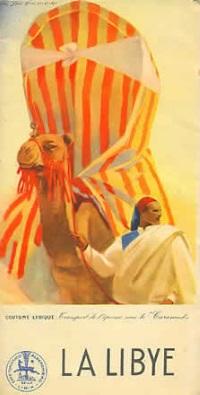 Libia cammello rid