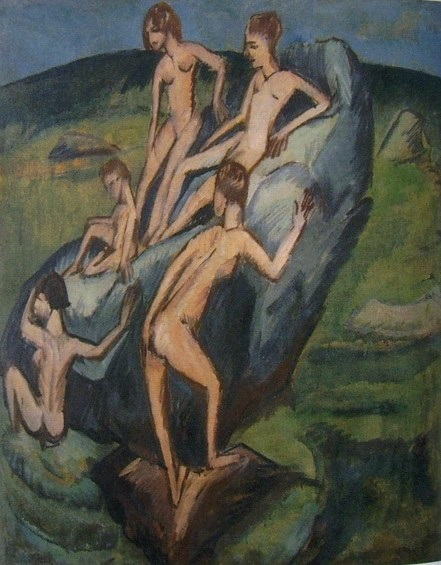 02-05a-ernst-ludwig-kirchner-bagnanti-sulle-rocce-a-fehmarn