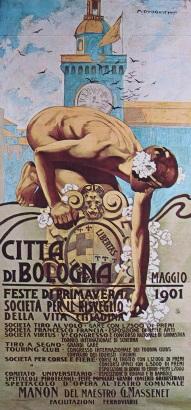 27 Città di Bologna 1901 feste di primavera (2)