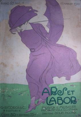 AL 5 anno 65 vol.1 - 15 marzo 1910