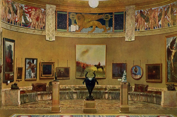 Galileo Chini, Sala del Sogno (VII Esposizione Internazionale d¹Arte di Venezia), Modelli d'arte decorativa, 1907