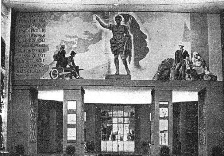 20 Pannello decorativo mostra nazionale del grano 1932 33 (1)